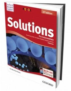 Solutions 2nd Edition PreIntermediate - udžbenik za prvi razred srednje škole