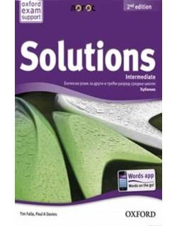 Solutions 2nd Edition Intermediate - udžbenik za 2. i 3. razred srednje škole