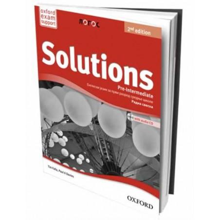 Solutions 2nd Edition PreIntermediate - radna sveska za 1. razred srednje škole