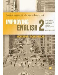 Improving English - Engleski jezik - radna sveska za 2. razred gimnazije i stručne škole