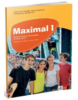 Maximal 1, nemački jezik - udžbenik