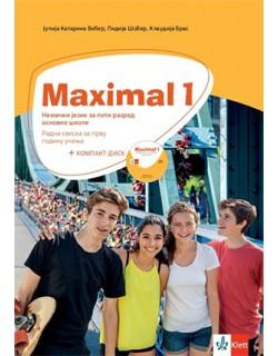 Maximal 1, nemački jezik - radna sveska