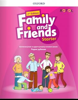 Family and Friends Starter - 2nd Edition, radni udžbenik