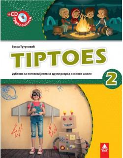 Tiptoes 2 , radni udžbenik iz engleskog jezika