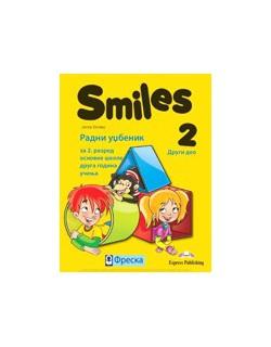 Smiles 2, radni udžbenik 2. deo za engleski jezik za 2. razred