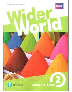 Wider World 2, udžbenik za engleski jezik za 6. razred