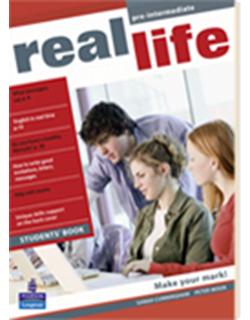 Real Life Pre-intermediate, udžbenik - engleski jezik za 2. razred srednje stručne škole