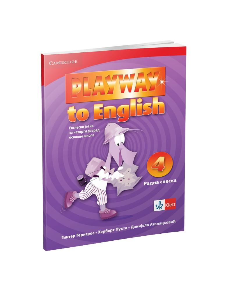 """Engleski jezik 4, radna sveska """"Playway to English"""""""