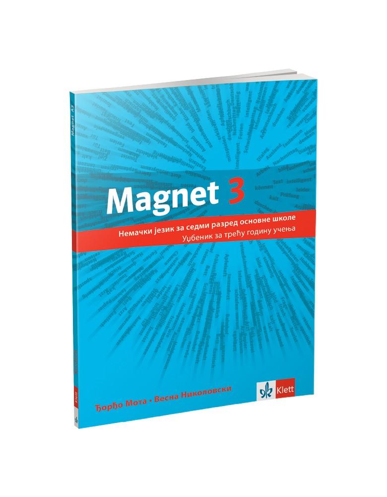 """Nemački jezik 7, udzbenik """"Magnet 3"""""""