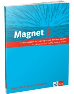 """Nemački jezik 7, radna sveska """"Magnet 3"""""""