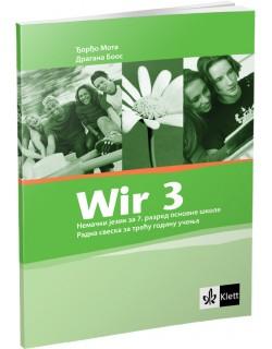 "Nemački jezik 7, radna sveska ""Wir 3"""
