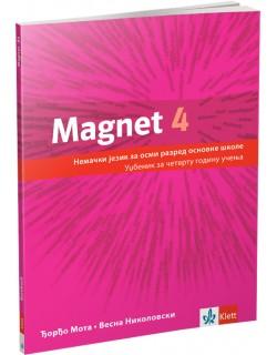 """Nemački jezik 8, udzbenik """"Magnet 4"""""""