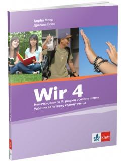 "Nemački jezik 8, udzbenik ""Wir 4"""