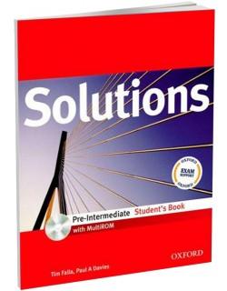 Solutions Pre Intermediate - udzbenik