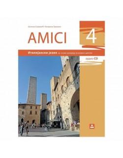 AMICI 4 - Italijanski jezik, udzbenik za 8. razred osnovne škole