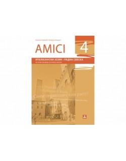 AMICI 4 - Italijanski jezik, radna sveska za 8. razred osnovne škole