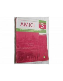 AMICI 3 - Italijanski jezik, radna sveska za 7. razred osnovne škole