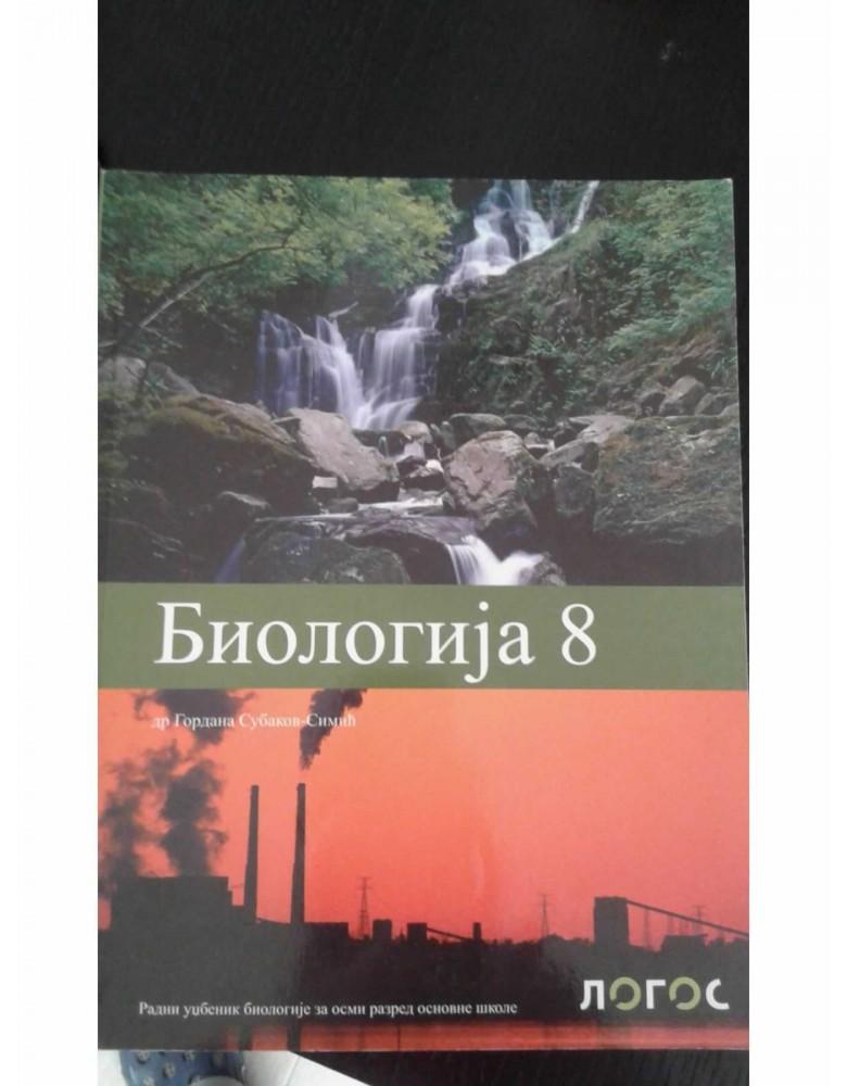 Biologija 8 - udzbenik
